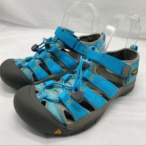 Keen Whisper Waterproof Hiking Sandals Turquoise